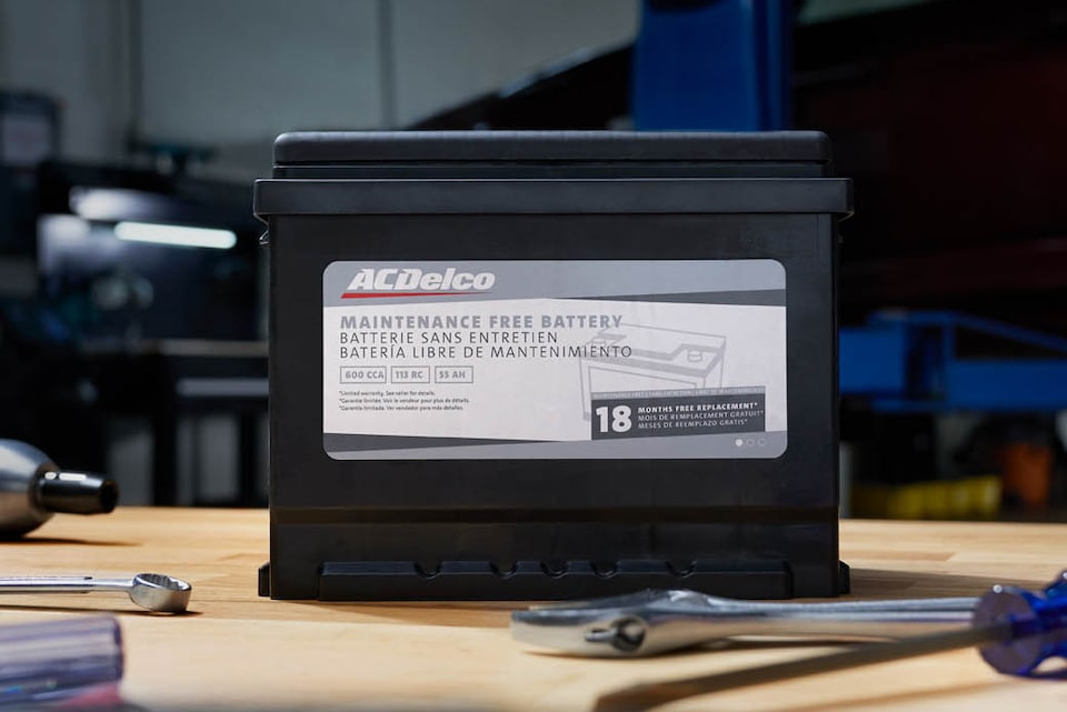 : ACDelco Silver (Advantage) Tier Branded Battery