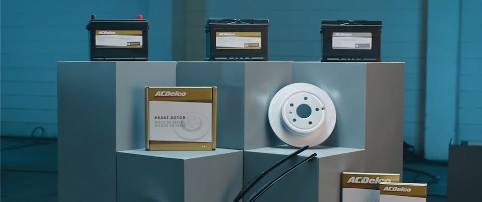 ACDelco Gold and Silver Aftermarket Batteries