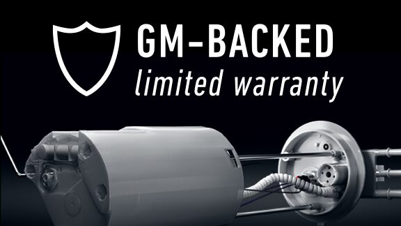 GM-Backed Limited Warranty on GM OE Line Parts