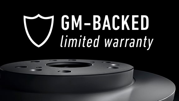 GM-Backed Limited Warranty on ACDelco Gold & Silver Repair Parts