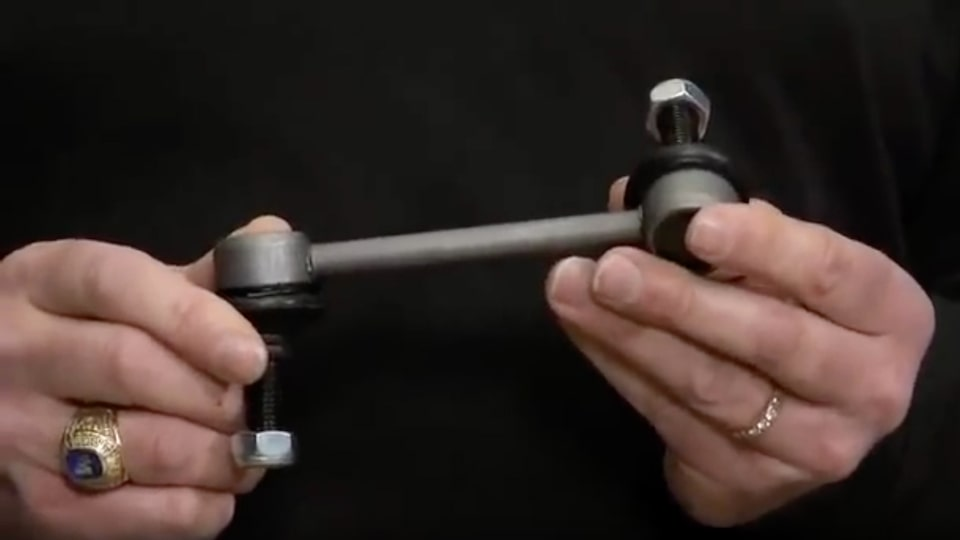 Advantage Silver Sway Bar Links: ACDelco Under Car Video