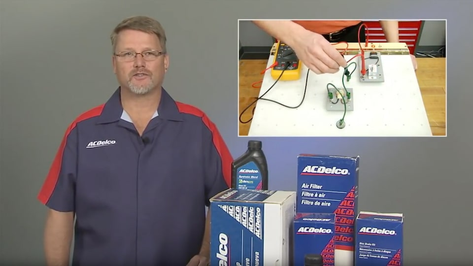 Using a Digital Multimeter To Check Amperage: ACDelco Electrical Systems Video