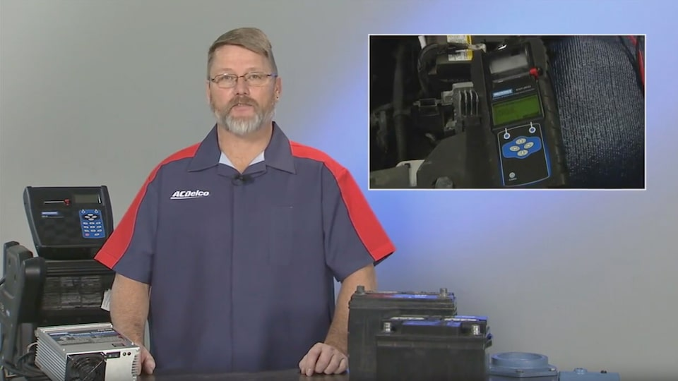 Capacitance Testers: The Battery Test: ACDelco Electrical Systems Video