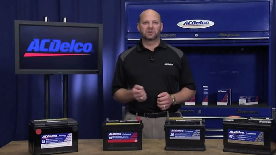 CCA VS. RC Batteries: ACDelco Electrical Systems Video