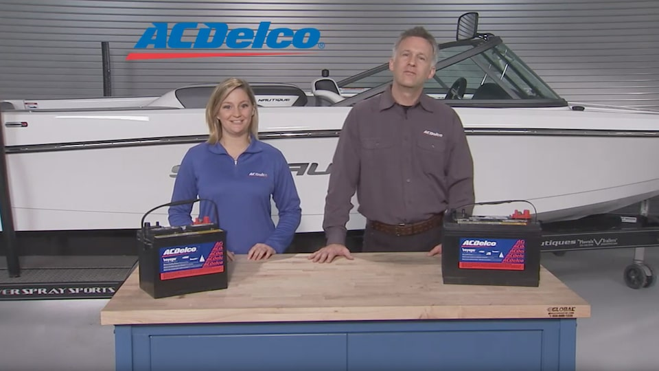 Marine Battery Tips: ACDelco Car Care Tips Video
