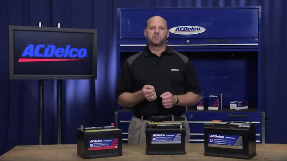 Professional Gold Batteries: ACDelco Electrical Systems Video