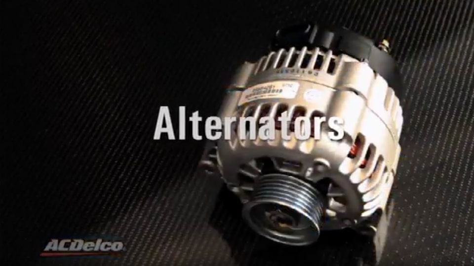 Remanufactured Alternators: ACDelco Electrical Systems Video