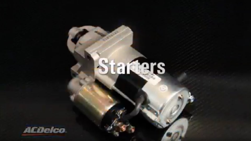 Remanufactured Starters: ACDelco Electrical Systems Video