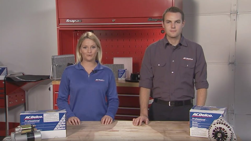 Starters And Alternators: ACDelco Electrical Systems Video