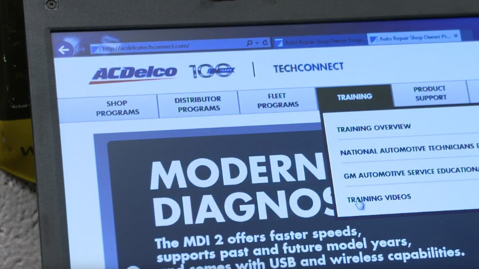 Virtual Classroom Training: ACDelco Technical Training Video