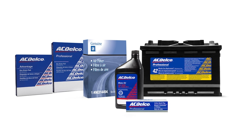 ACDelco Original Parts Packaging