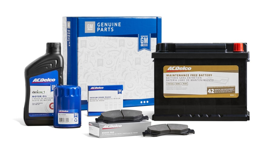 ACDelco New Parts Packaging