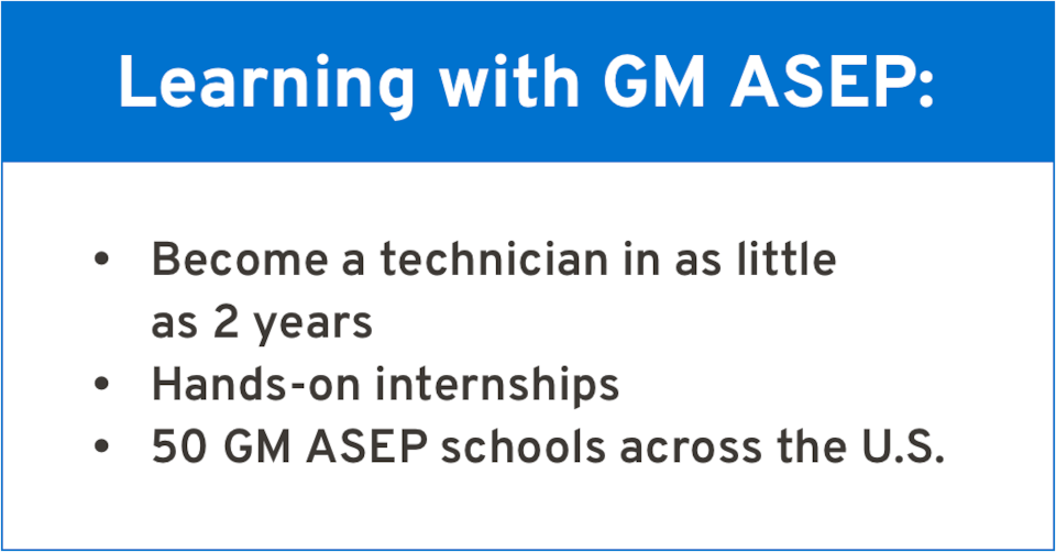 Learning with GM: Becoming an Automotive Technician