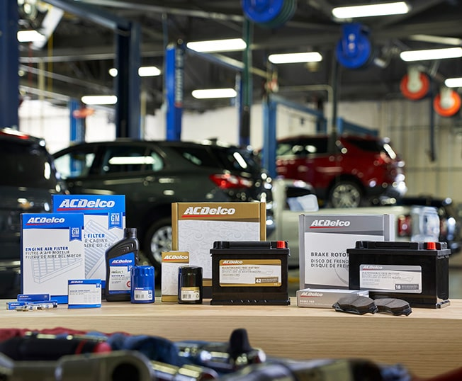 ACDelco and GM Genuine Parts Lineup of new Blue (OE), Gold and Silver Parts Packaging