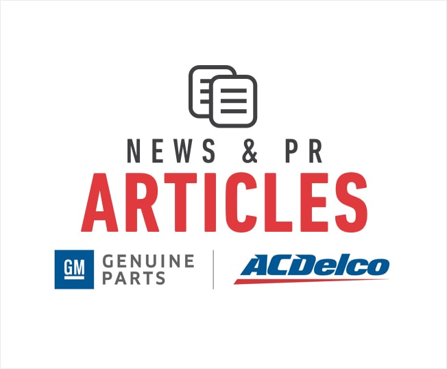 GM Genuine Parts and ACDelco Auto Parts Logos