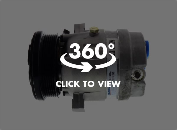 ACDelco Professional Air Conditioning (AC) Compressor 360 View