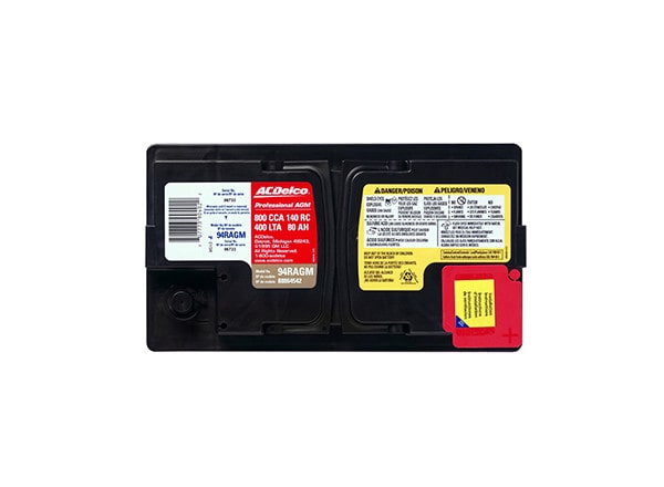 ACDelco Professional Automotive AGM Battery Alternate
