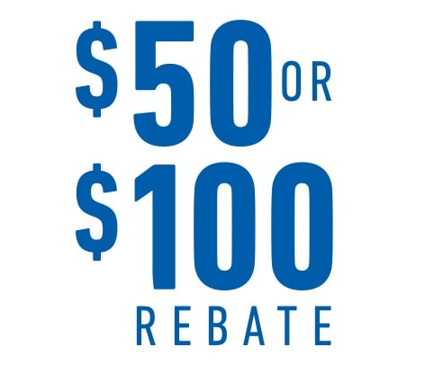 Earn a $50 or $100 Rebate on Purchases of Eligible GM Genuine Parts and ACDelco Parts
