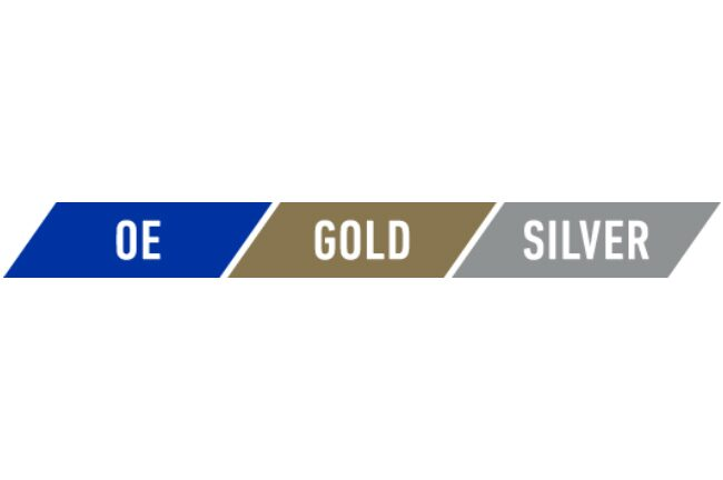 ACDelco & GM Genuine Parts Branded Parts Packaging Color Tiers - Blue, Gold & Silver