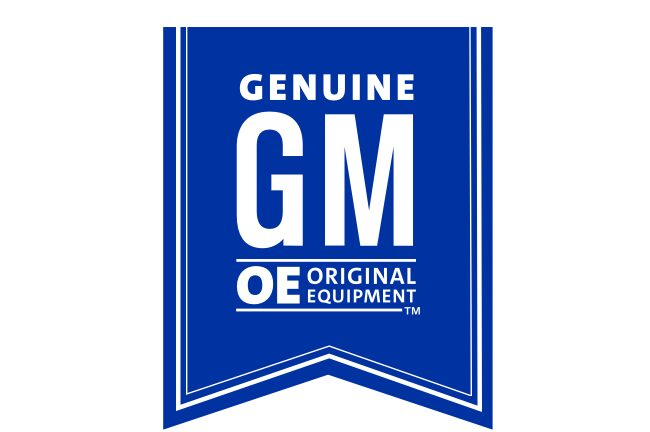 GM Genuine Original Equipment Parts Ribbon