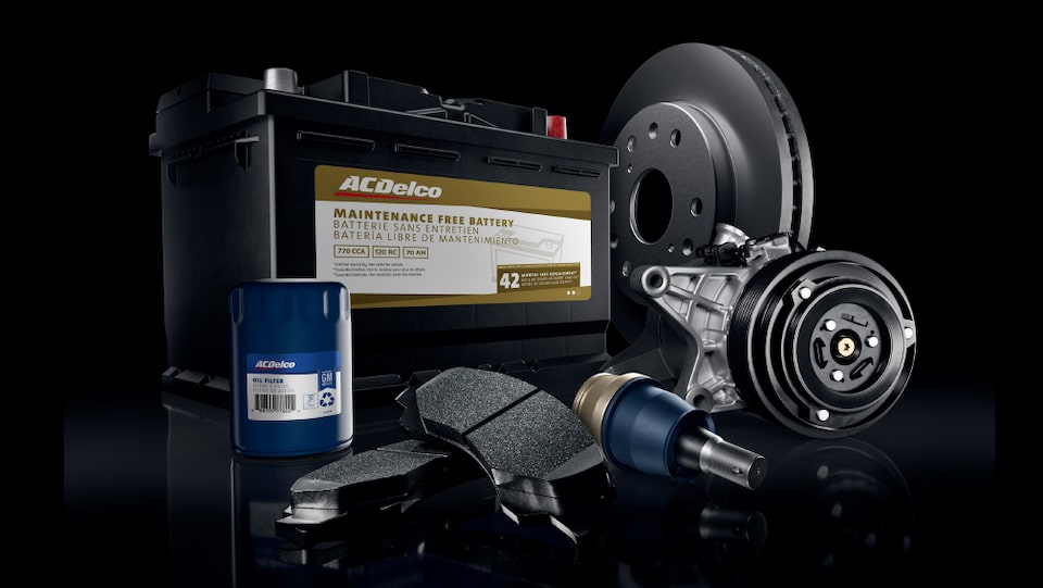 Find The Right ACDelco Auto Parts For Your Vehicle From Our Extensive Product Offerings