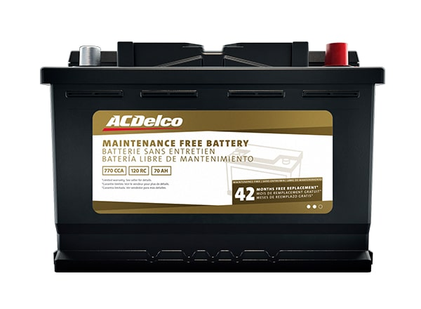 Buy ACDelco Batteries for your GM or non-GM vehicle, motorcycle, boat, or recreational vehicle.