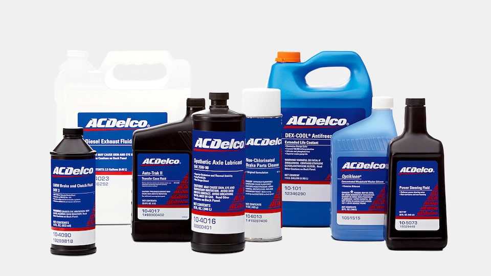 See The ACDelco Chemicals And Fluids Catalog To Find Motor Oil, Antifreeze, And More For Your Vehicle