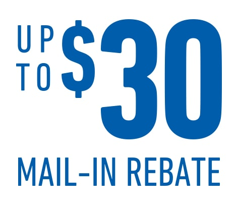 Receive up to a $30 mail-in rebate on the purchase and installation of ACDelco GM OE or Gold (Professional) Brake Pads at an ACDelco Service Center.