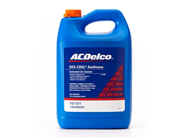 ACDelco offers Dex-Cool Antifreeze specifically formulated for your GM vehicle.