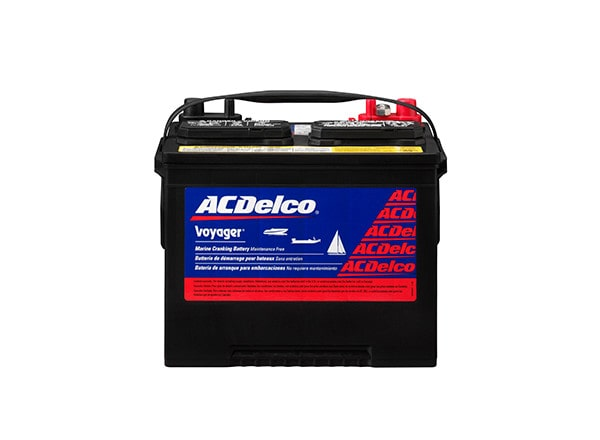 ACDelco offers Professional Voyager RV and Marine Starting and Cranking Batteries for your boat or RV.