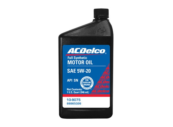 ACDelco offers Synthetic Blend SN Plus Motor Oil for your GM or non-GM vehicle.