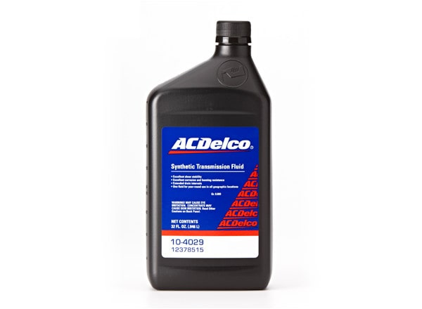 ACDelco offers Synthetic Manual Transmission Fluid specifically formulated for CK trucks.